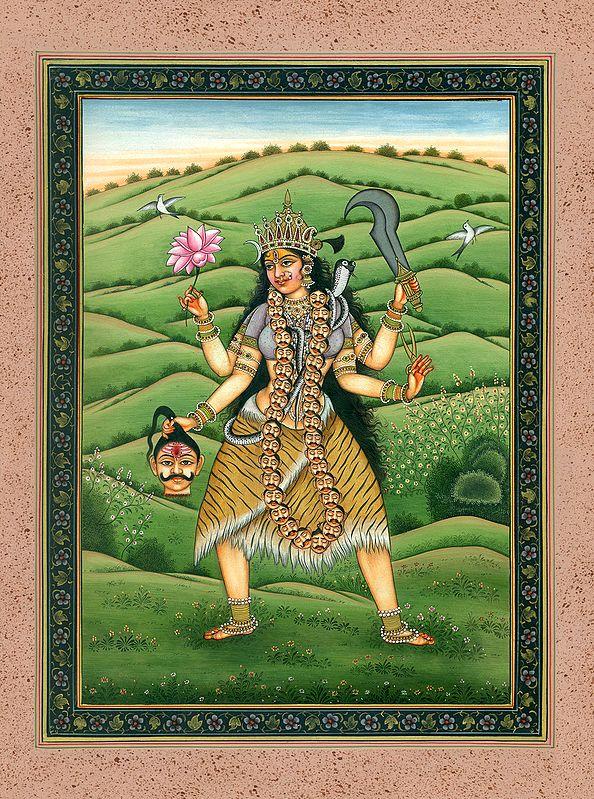 Tara the Compassionate Goddess (Mahavidya)