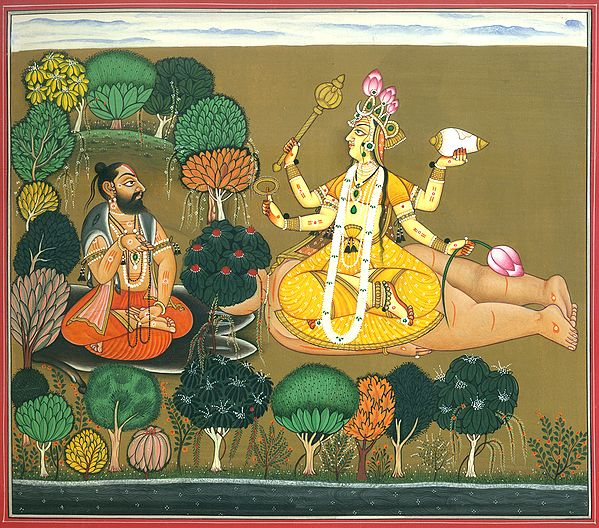 Rishi Chyavana Worships The Tantric Roopa Of Lakshmi (Tantric Devi Series)