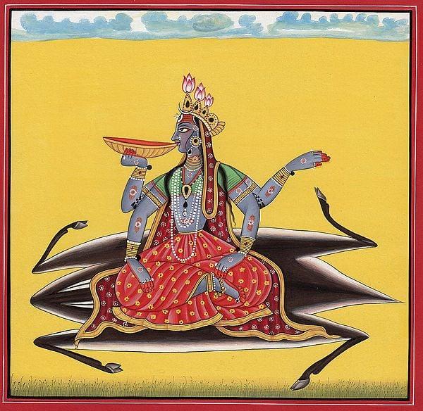Tantric Goddess Kalaratri