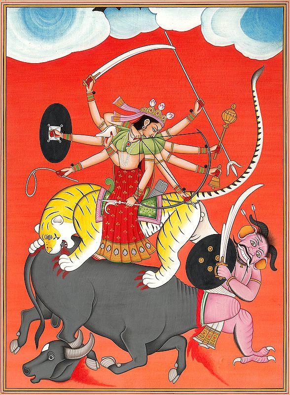 Ten-Armed Mahishasuramardini
