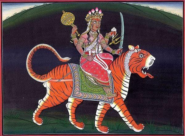 Sinha-vahini Durga