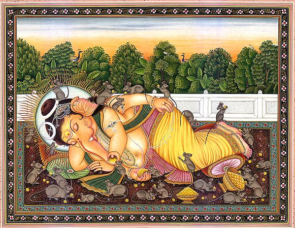 The Compassionate Lord Ganesh