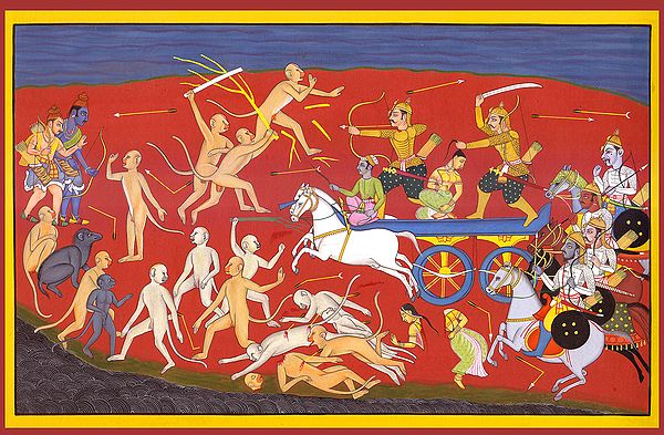 Psychological Warfare In The Ramayana