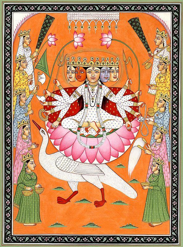 Dashabhuja Devi Gayatri