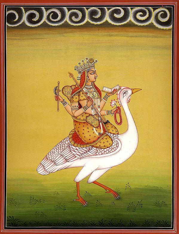 The Journey Of Devi Sarasvati