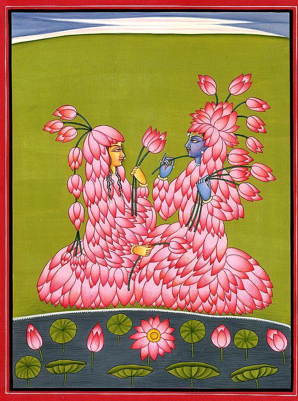 Radha Krishna The Lotus Lovers