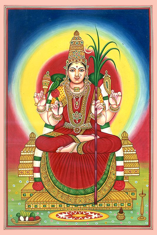 Shri Rajarajeshwari, The Embodiment Of Beauty
