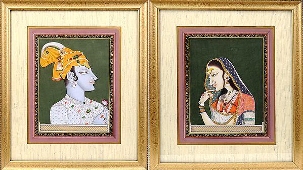The Inseparable Radha-Krishna
