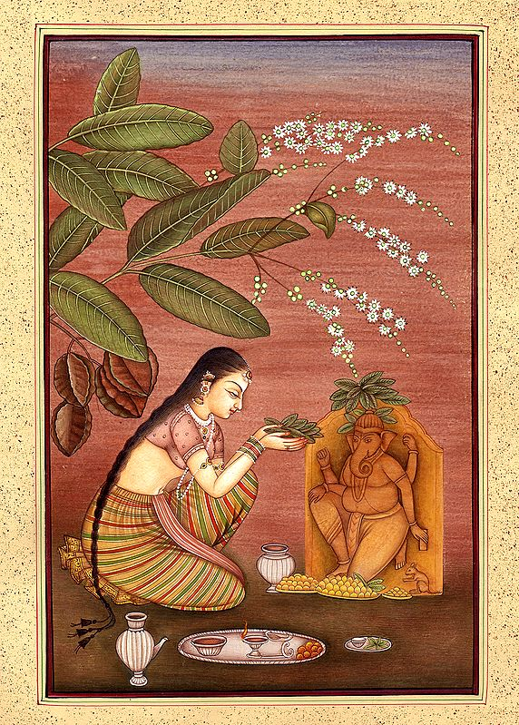 Early Morning Ganesha Home-poojan
