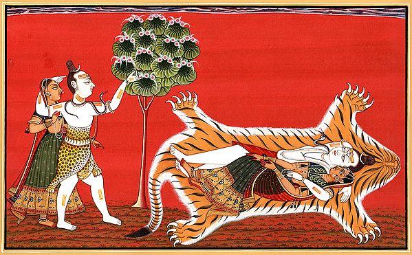 A Vision Of Shiva-Parvati
