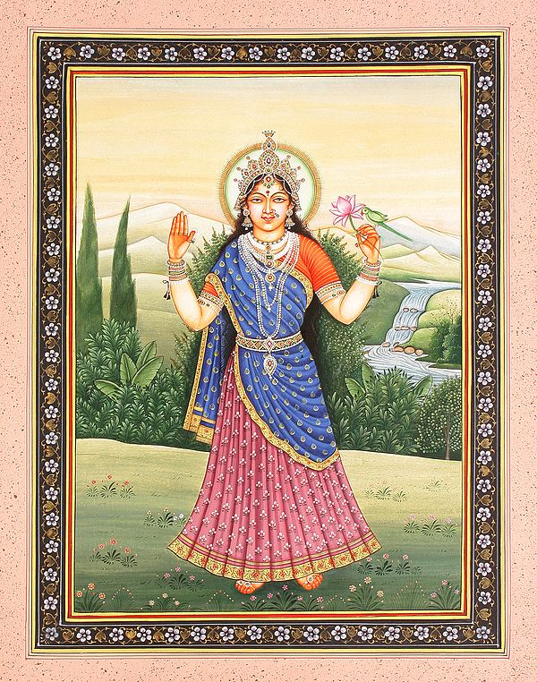 Tulasi Devi, The Devi Of Nourishment And Well-Being