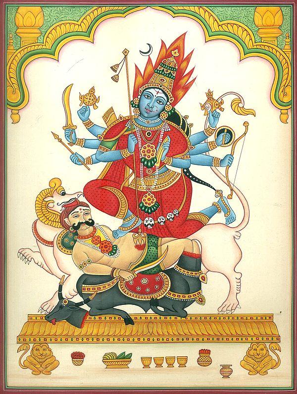 Shyambarna Devi Durga