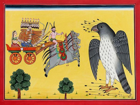 Sita Haran - Abduction of Sita by Ravana