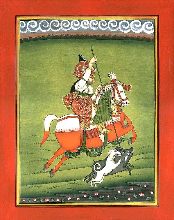 Hunt of a Mewar Warrior