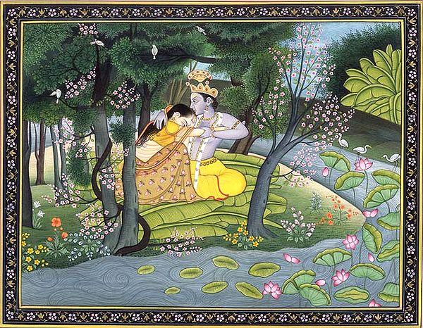 Krishna Consoles Radha