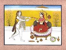 Parvati as Annapoorna