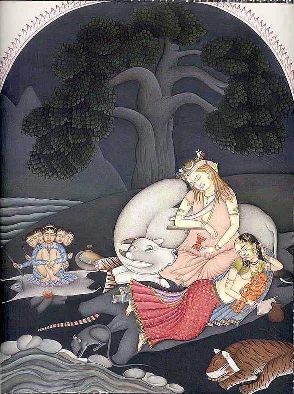 Shiva and Family