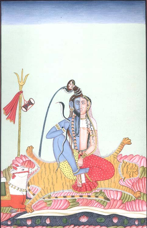 Shiva in His Ardhnarishvara, Androgynous Form