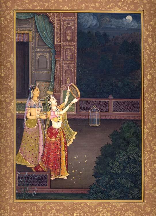 Sighting the Moon of Karva Chautha