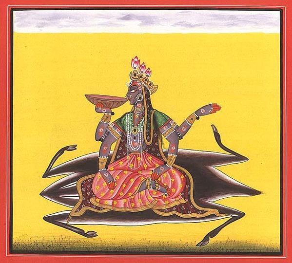 Tantric Devi Series - Kalaratri - The Cosmic Night