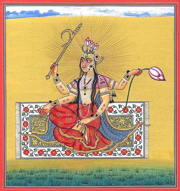 Tantric Form of Devi