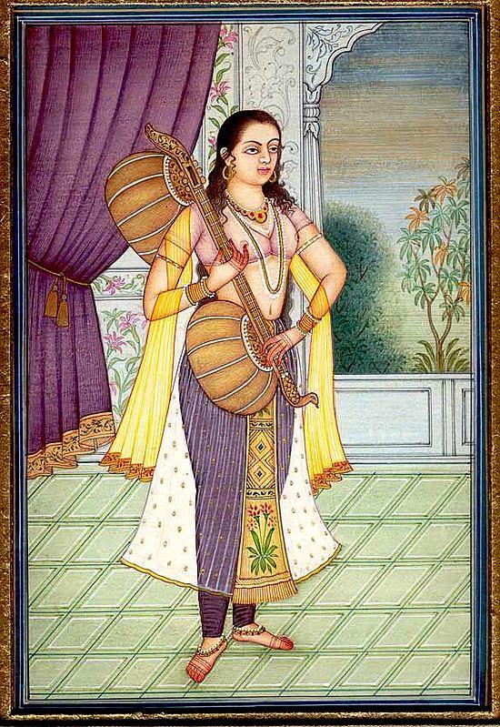 The Sadhika, or the Woman Dedicated to Practising Music