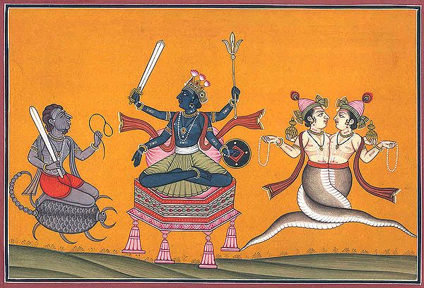 Three Astrological Deities