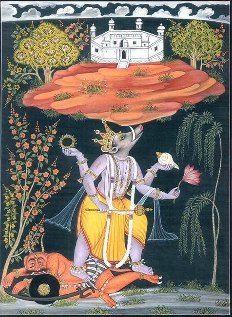 Varaha - Incarnation of Vishnu