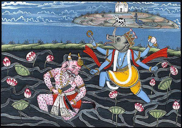 Varaha Incarnation of Vishnu