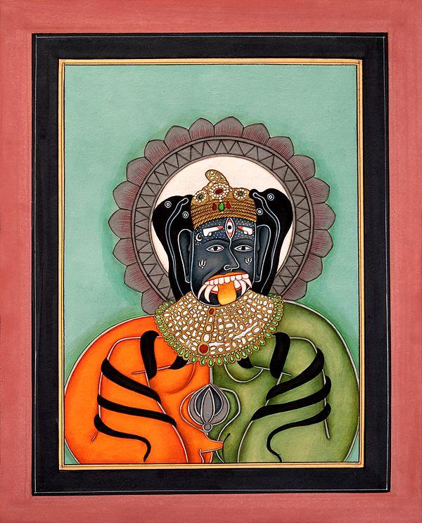 Tantric Form of Param Shiva
