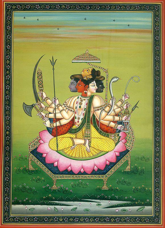 Pancha-Mukha Shiva