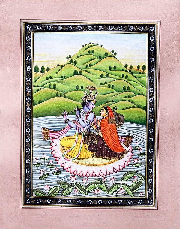 Radha-Krishna Steeped In Music