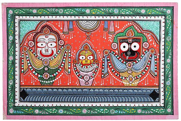 Jagannath Ji (Balarama Subhadra and Krishna)