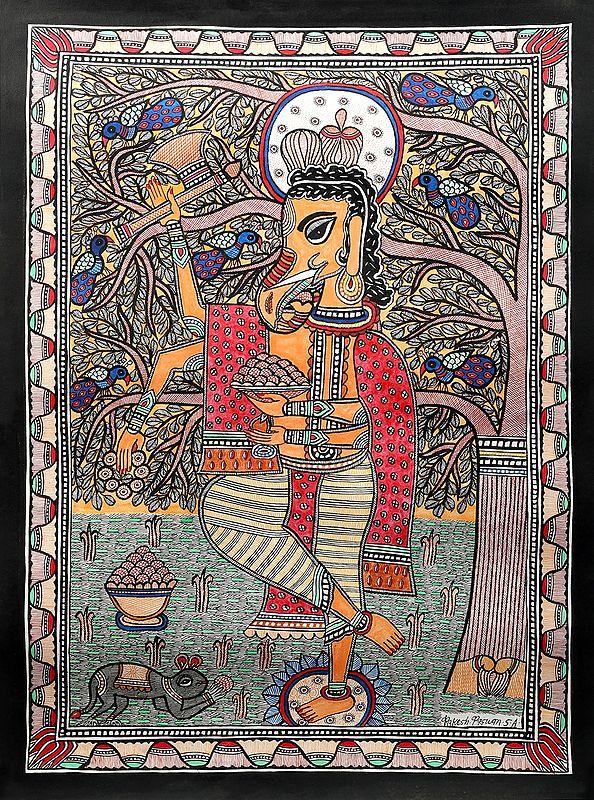 Lord Ganesha's Ecstatic Dance