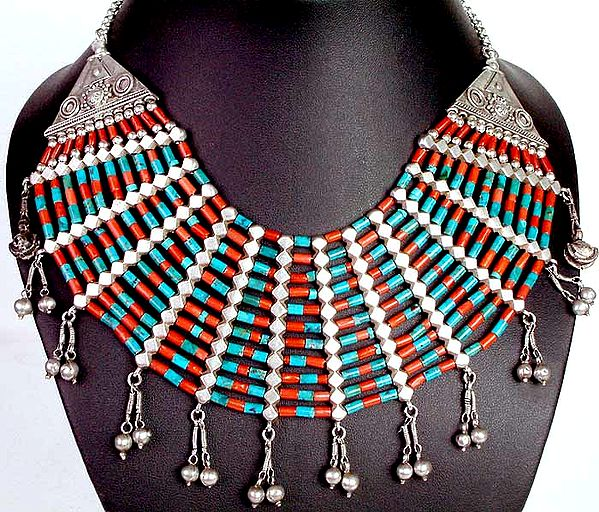 Turquoise Coral Choker
