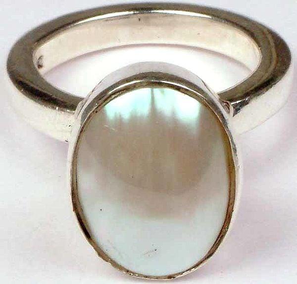 Beaten Shell Ring