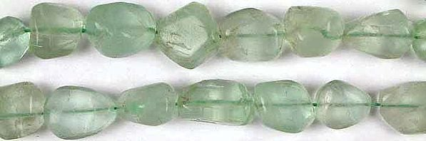 Green Fluorite Plain Nuggets