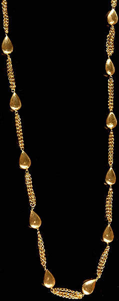 Gold Plated Sterling Necklace