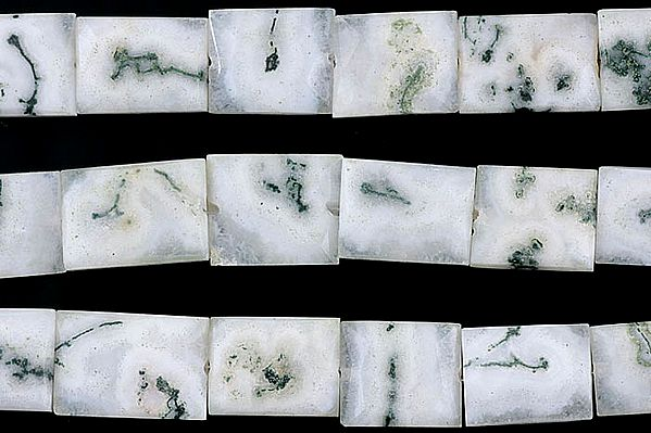 Moss Agate Chiclets