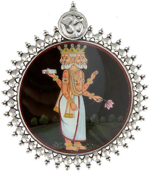 Lord Brahma Pendant
