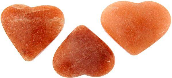 Cherry Quartz Heart (Price Per Piece)
