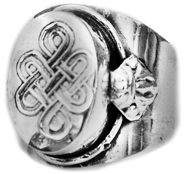 Endless Knot (Ashtamangala) Ring