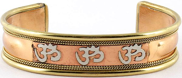 Triple Om (AUM) Bracelet