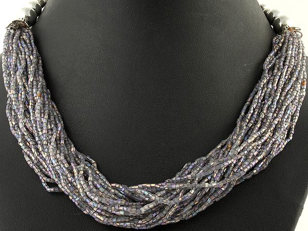 Gray Bunch Necklace
