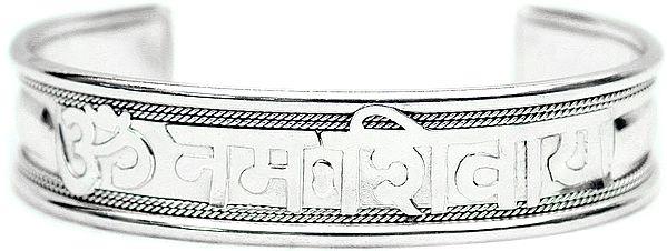 Om Namah Shivai Bangle