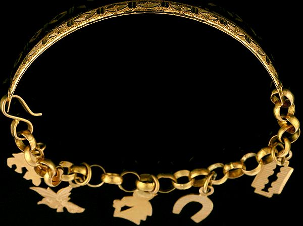 Handcrafted Bracelet with Charm