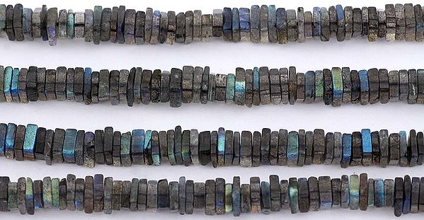 Labradorite Square Beads
