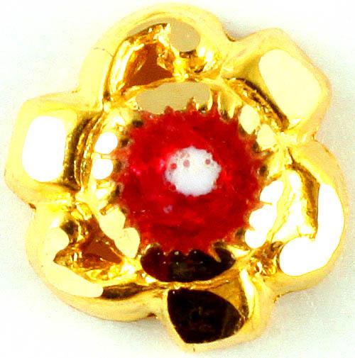 Meenakari Nose Pin