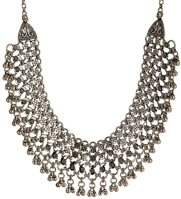 Blooming Flowers Necklace from Rajasthan