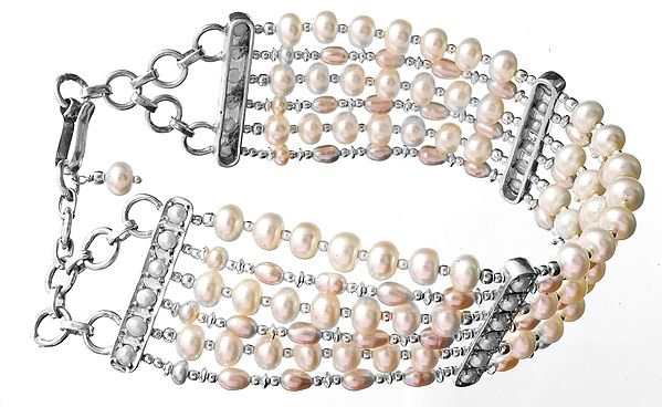 Six-Strand Pearl Bracelet